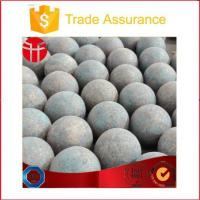 Quality Grinding Steel Ball Wear Resistant Forged Steel Balls for Lead Mine for sale