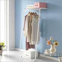 Quality 1 Tier Wall Stand Garment Rack for sale