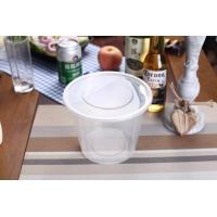Quality 750ml Food Grade Plastic Round Food Container for sale