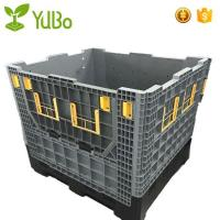 China 1140*980*1050mm Heavy Duty Collapsible Plastic Pallet Containers, HDPE plastic pallet box crate on sale