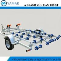 China Double Jet Ski Trailer with Roller Rails on sale