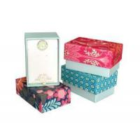 Buy cheap Lid And Base Box / Creative Jewellery box / Customized Cosmetic box from wholesalers