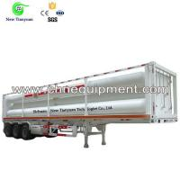 Quality 8 Tubes Quantity Liner OD 559MM Long Tube Semi CNG Tube Trailer for sale