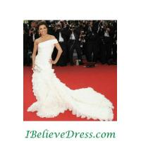 China Tulle Gorgeous Anne Hathaway Celebrity Wedding Gowns Patterns For Sale on sale