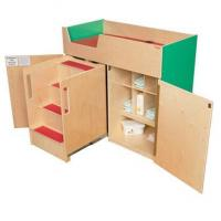 Quality WD21075G Green Apple Deluxe Changing Table with Safety Steps for sale