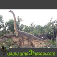 Quality Foam rubber of brachiosaurus for animatronic dinosaurs exhibit for sale