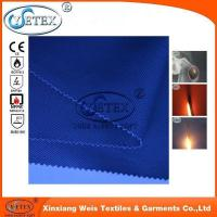 Quality Permanent proban 100% cotton twill fabric with flame retardant material for sale