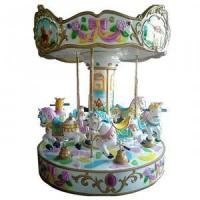 Buy cheap AMC006 6seats horse carousel from Wholesalers