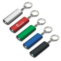 China Aluminium Keychain Flashlight - (printed with 1 colour(s)) - (109663_TRDZ) on sale