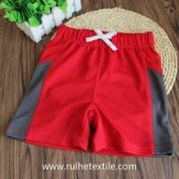 Quality Loose Fit Wicking Shorts Knee Length Sports Shorts for Boys for sale