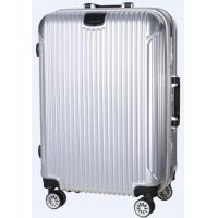 Quality Roral ABS Travel Luggage Bag Trolley Case With PC Coated for sale