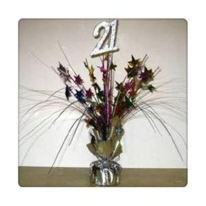 Buy Centerpiece|Balloon Weight 12in Heart Spray Foil Tinsel Spray at wholesale prices