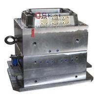 Quality PP Material Porous Clothes Crate Injection Mold With Cover Designed for sale