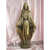 Buy cheap Giant Virgin Mary Figurines Bronze Statuette as Garden Ornaments from wholesalers