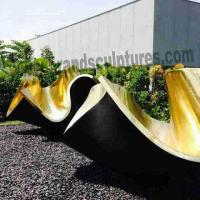 Buy cheap Huge Outer Bowl Bronze Casting Sculpture for Museum Decoration from wholesalers