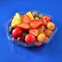 Quality Polygons Pet Fruit and Vegetable Salad Packaging Container for sale