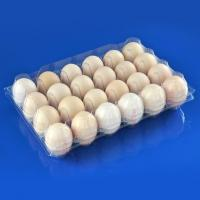 Quality 24 Holes Clamshells Plastic Egg Packaging Tray for sale