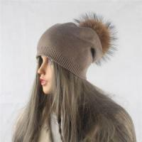 Quality 2017 Design High Quality Knitted Wool Blend Beanie Hat Instock for sale