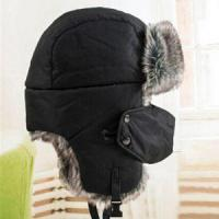 Quality Winter Warm Outdoor Ear Flaps Bomber Caps Unisex Proof Trapper Hat Snow Ski Hat Cap Russian Hat for sale