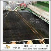 Quality Grey Wooden Grainy Marble Stone For Bathroom Countertop for sale