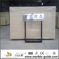 Quality Italian Roman Travertine Slab For Bathroom Flooring Tile Countertops With Luxury Good Quality for sale