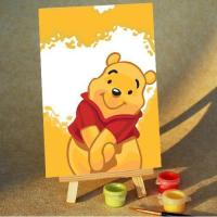 DIY Cartoon Painting by Numbers for Kids 10x15cm