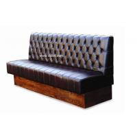 Buy cheap Chesterfield Style Back Wooden Base Restaurant Sofa Booth Seating from Wholesalers