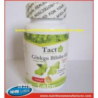 Buy cheap Ginkgo Biloba Soft capsule private label from wholesalers