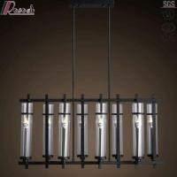 Buy cheap Modern Designer Simple Black Square Pendant Lighting with Dining Room from Wholesalers