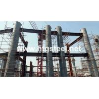Quality CE Standard Tubular/circular Steel Columns for Dalian Xingang Shipyard, 5600tons for sale