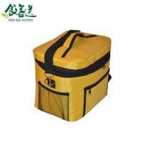 Buy cheap Fabric Ziploc Cooler Bag Fashion Portable Insulated Cooler Boxs Small Yummy Mummy Bag Tote Bags from Wholesalers