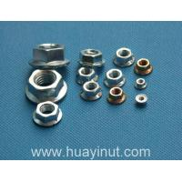 Screw series DIN6923 Hex Flange Nuts(flower at the end )