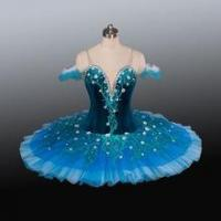 Buy cheap BLY1232 New Blue dance costumes dress adult classical pancake professional ballet tutu from wholesalers