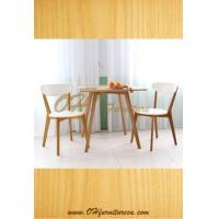 Buy cheap Bentwood Wood Vinyl Arm Dining Chair from Wholesalers