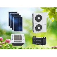 Buy cheap ACDC Hybrid Solar Air Conditioner Cassette Type Space-saving For Hotel from wholesalers