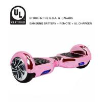 Buy cheap Classic Self Balancing Scooter 6.5 Inch Hoverboard Chrome Pink from Wholesalers