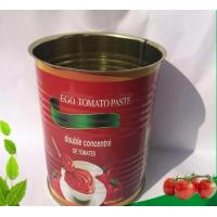 Quality Green Food 400g*24tins Wholesale Canned Tomato Paste for sale