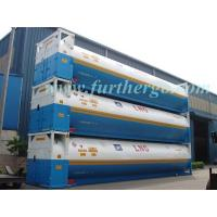 China 20ft/40ft LNG Cryogenic Liquid Cryogenic ISO Tank Container on sale