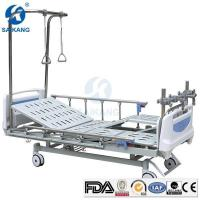 China Hospital Medical Therapy Traction Orthopaedic Bed Equipment with Manual Lumbar on sale