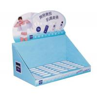 Medicine Bottle Counter Display Units , Cardboard Counter Units , Small Display Stands Custom Print