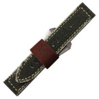 Buy cheap Charcoal Canvas Watch Strap from wholesalers