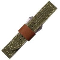 Buy cheap Tan Canvas Watch Strap from wholesalers