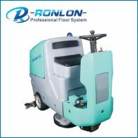 Quality Eletric Or Battery Ride On Commercial Floor Scrubbers Dryer Cleaning Machine for sale