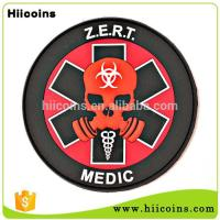 Quality Best Selling Items Wholesale Cheap 3D Soft Team Rubber Patch for sale