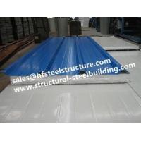 Quality EPS Sandwich Cold Room Panel Steel Sheet For Cold Storage and Prefab House for sale