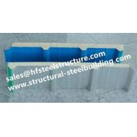 Insulation Material Pu Polyurethane Freezer Room Panels For Cold Storage Width 950mm