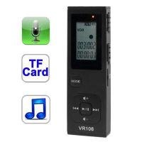 Quality Support TF Card Telephone recording Digital Voice Model: AT-VR102 for sale