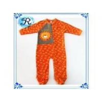 China Custom Organic Cotton Baby Rompers Polar Fleece Long Sleeve One Pieces Jumpsuits Wholesale baby Clot on sale