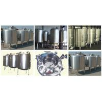Quality Stainless Steel Storage Vessels, Storage Tank Manufacturers & Exporters for sale