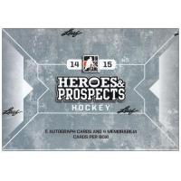 Quality 2014-15 Leaf ITG Heroes And Prospects Hockey Hobby Box for sale